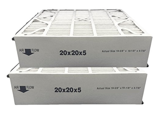 Atomic 259112-103 Trion Air Bear Supreme Compatible Replacement Media Filter 20x20x5 MERV 11 - 2 pack