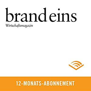 brand eins audio, 12-Monats-Abonnement Audiomagazin