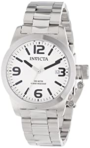 Invicta Men's 14826 Corduba White Dial Stainless Steel Watch