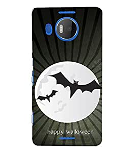 EPICCASE happy walloween Mobile Back Case Cover For Microsoft Lumia 950 XL (Designer Case)