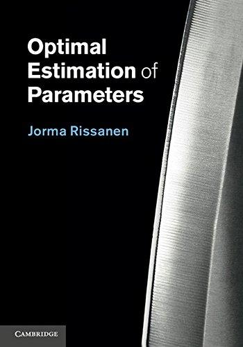Optimal Estimation of Parameters Hardback