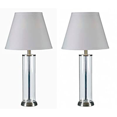 Kenroy Home 32080 Echo 1 Light Table Lamp - Set of 2,