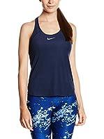 Nike Top W Nk Dry Slam (Azul)