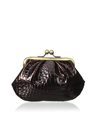 AEON Women's Large Coin Purse, Chocolate