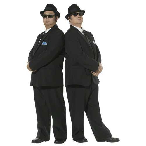Officially Licensed Smiffy's Blues Brothers Suit - Medium or Large sizes.