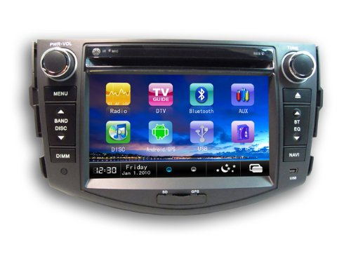 Chilin Car DVD for TOYOTA RAV4 Android High Inch Touchscreen Double-DIN Car DVD Player & In Dash GPS Navigation...