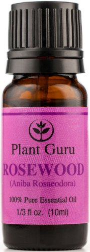 Rosewood Essential Oil. 10 Ml. 100% Pure, Undiluted, Therapeutic Grade.