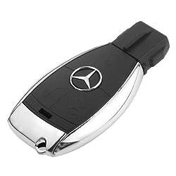 Quace MercedesKey-16 16 GB Mercedes Key Shape Fancy USB Pen Drive