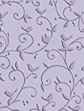 Cuttlebug A2 Embossing Folder: Birds & Swirls