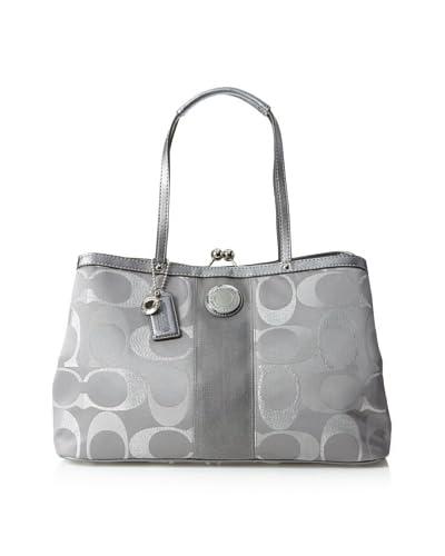Coach Women's Shoulder Bag, Grey Multi