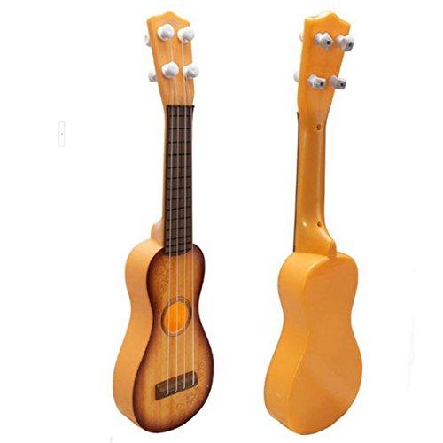 Towallmark(Tm)Baby Children Wisdom Development Simulation Guitar Toy Music Gift (Yellow)