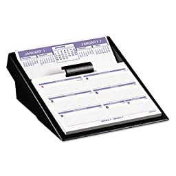 Desk Calendar, w/ Base, 12 Mths Jan-Dec, 5-5/8\
