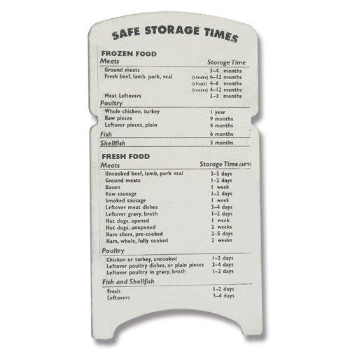 Amco 8331 Stainless Steel Safe Food Storage Refrigerator Magnet