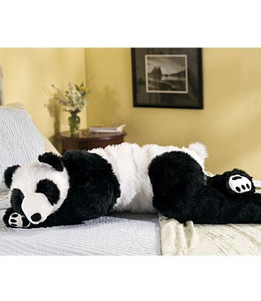 Bear Body Pillow back-276623