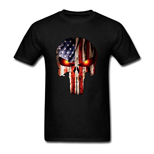 Grossbull Tution T shirt Customized Punisher Frank Rook Men T shirt Short Sleeve X-Large