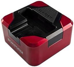 RokForm RokStand V.1 Aluminum Folding Samsung Galaxy S4 Desktop Charging Stand (Red/Black)