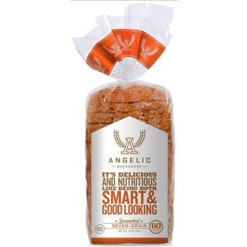 ANGELIC BAKEHOUSE Sprouted 7-Grain Bread, 16 Ounce (Pack of 8) (Seven Grain Bread compare prices)
