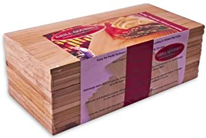 Cedar Grilling Planks - 12 Pack from Grill Gourmet