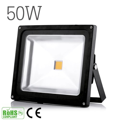 10W 20W 30W 50W 100W Warm White Cool White Outdoor Waterproof Led Floodlight 85-265V And 12V(1 2 3 4 5 8 10Pcs) (1, 50W Warm White)