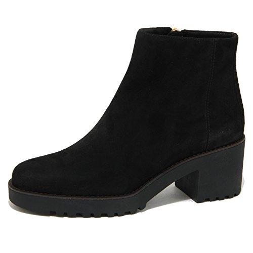 1828O tronchetto HOGAN ROUTE 277 nero stivaletti donna boots women [35]