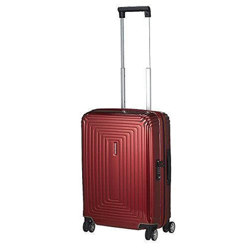 samsonite-bagage-cabine-neopulse-spinner-55-cm-38-l-rouge-metallique-rouge