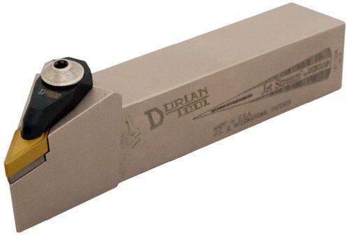 Dorian Tool ADVJN Jet-Stream Square Shank Chromium Molybdenum Alloy Steel Thru-Coolant Turning Holder, Right-Hand Cut, 1