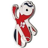 London 2012 Olympic Wenlock Union Jack Pin Badge
