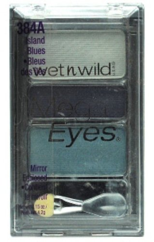 ウェットアンドワイルド MEGA EYES EYE SHADOW #384A ISLAND BLUES