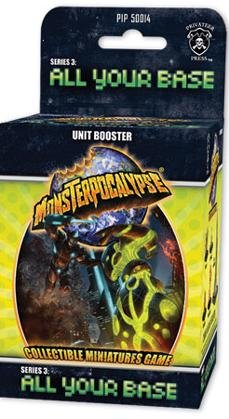 Monsterpocalypse Series 3: All Your Base Unit Booster - 1