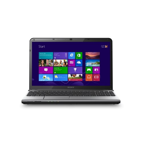 Sony Serie E Notebook, Processore Core i5 2.6 GHz, RAM 4 GB, HDD 750 GB
