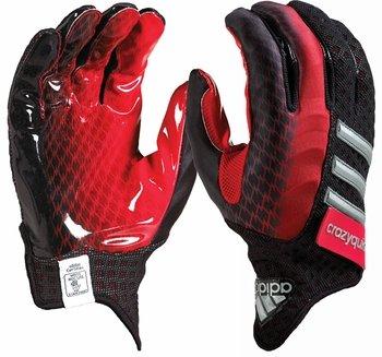 adidas Crazyquick 2.0 Football Gloves, Black/ Red, Small (Adidas Crazyquick Football Gloves compare prices)