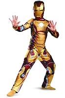 Marvel Iron Man 3 Mark 42 Boys Classic Costume, 3T-4T