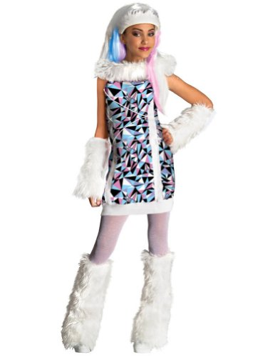 Monster High Abbey Bominable Child Costume Sm Kids Girls Costume