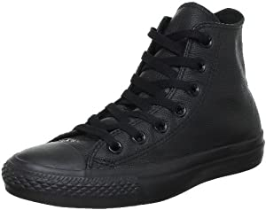 Converse Chuck Taylor All Star Mono Hi, Baskets mode mixte adulte - Noir, 39 EU (3.5 UK)