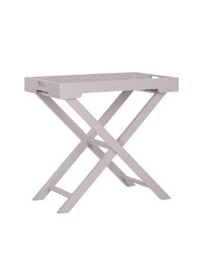 Safavieh Leo Accent Table, Grey Overcast