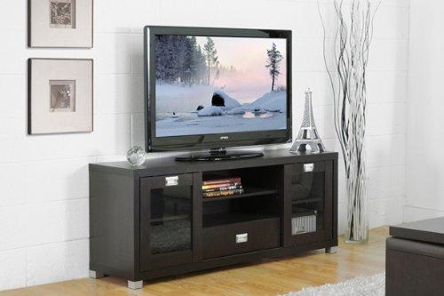 Matlock Modern Glass Door TV Stand