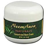 New - Neem Aura Neem Creme With Aloe and Neem Oil - 2 oz