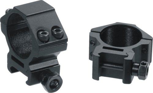 Buy Bargain AccuShot Premium 30mm Weaver Style See-Thru Low Profile Rings