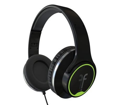 Flips Audio Hd Headphones W/ Built-In Stereo Speakers And Case