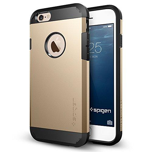 iPhone 6 ケース, Spigen®  [エアクッションテクノロジー] Apple iPhone 4.7 (2014) タフ・アーマー The New iPhone アイフォン6 (国内正規品) (シャンパン・ゴールド 【SGP10970】)