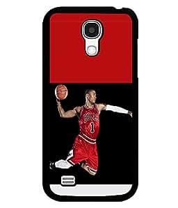 printtech Basketball Bulls Back Case Cover for Samsung Galaxy S4::Samsung Galaxy S4 i9500