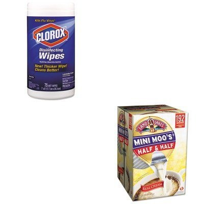 kitcox01761eammo100718-value-kit-land-o-lakes-mini-moos-half-ampamp-half-mmo100718-and-clorox-disinf