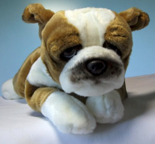 Plüschhund Hund Bulldogge 35 cm Kuscheltier