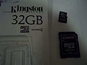 Samsung Galaxy S III Cell Phone Memory Card 32GB microSDHC Memory Card with SD Adapter