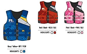 Body Glove Youth's Phantom U.s. Coast Guard Approved Neoprene Pfd Life Vest