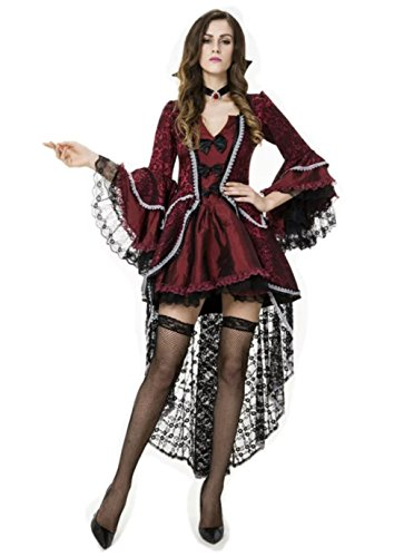 NonEcho Women's Horror Gothic Vampire Halloween Costume 2015 for Adult