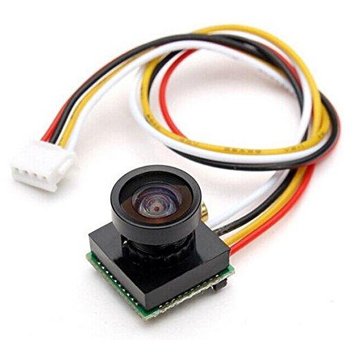 Threeking 600TVL NTSC スーパーCCD 1.8mmレンズ FPVカメラ 170度広角 &降圧AVケーブル適用Mini Drone QAV180/QAV210/QAV250/ QAV270/QAV280 FPV クワッドローター  解像度:1280*960