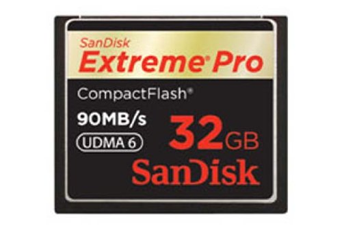 SanDisk Extreme Pro Compact Flash Card 32GB