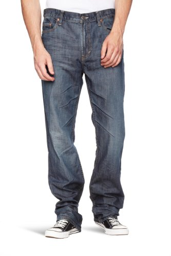 DKNY Delancey Straight Leg Men's Jeans Rebel Wash W30 INxL34 IN