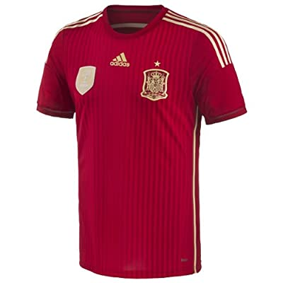 Adidas Spain Home Authentic Jersey World Cup 2014 (XL)